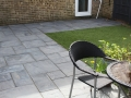 Artificial Grass complimenting a Swaledale Patio