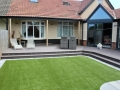Artificial grass - garden transformation
