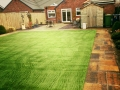 Bracken Historic flags and artificial grass
